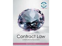 Contract Law Paperback 7th Eda. by Elliott & Quinn