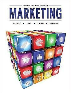 Marketing 3rd Canadian Edition- Grewal; Levy; Lichti; Persaud