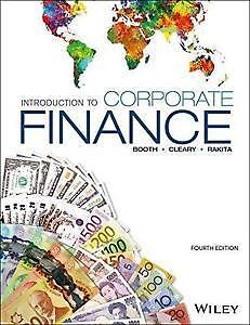Introduction to Corporate Finance 4th Edition - COMM 308 JMSB