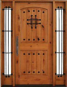 Wood Entry Doors & Entry Door | eBay