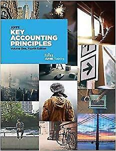 Key Accounting Principles, Neville Joffe, Volume 1  4th Edition