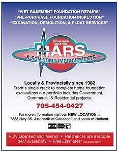 Wet basement  repair specialists since 1982 Kawartha Lakes Peterborough Area image 1