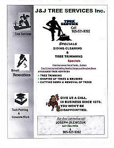 Tree Trimming and Removal Services .. FREE Estimates!!!