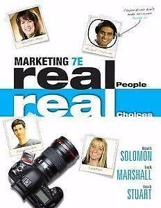 Marketing 7E Real People, Real Choices by Greg W. Marshall Waterloo Inner Sydney Preview