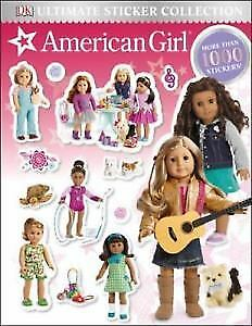 American Girl Ultimate Sticker Collection book . New