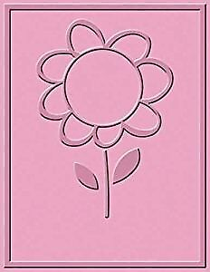 Cuttlebug A2 FLOWER CIRCLE embossing folder - $8