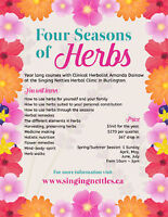 Four Seasons of Herbs Course