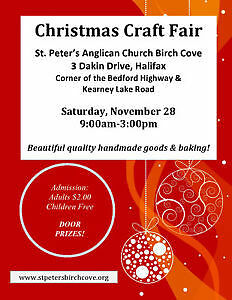 3rd Annual Christmas Craft Sale