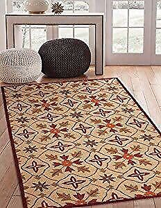 Area Rugs 9635 Lifestyle Hand Made Area Rug, 8 by 10-Feet