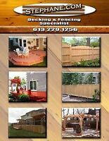 Stephane Deck's & Fencing ( Commercial & Residential )