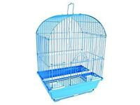 Cage for small indoor birds.Used ,but in very good condiction.