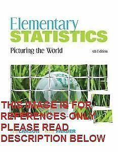 elementary statistics picturing the world case study