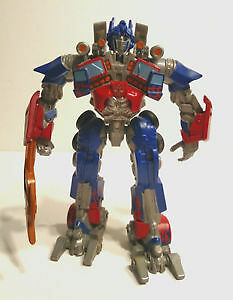 Dark of the Moon Optimus Prime (Robo Fighters class)