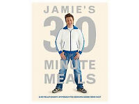 Jamie Oliver Cooking Books, never been used, as new (English + French)