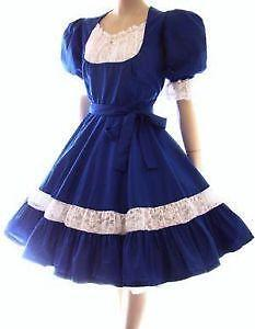 Blue Square Dance Dresses
