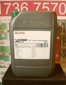 Castrol Edge Turbo Diesel 5W-40 20L Oil Lubricant