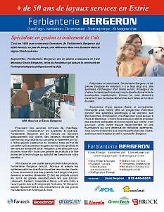THERMOPOMPE / CHAUFFAGE CENTRAL AIR PULSÉ, BI-ÉNERGIE