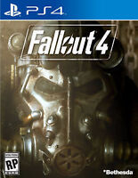 Fallout 4 - PS4 - Perfect Condition - $50.