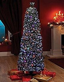 Band new still in box fibre optic tree 6ft slim line