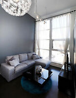 Urban and Chic One Bedroom Condo Loft - Heart of Kitchener