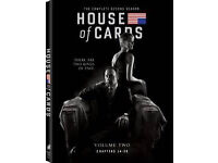 Brand new in packaging DVD 'House of Cards - Season 2 (chapters 14-26)