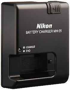 Nikon MH-25 Charger with EN-EL15 Battery
