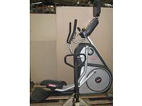 Elliptical / crosstrainer with digital screen