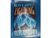 A COLLECTION OF BOOKS BY DEAN KOONTZ FOR SALE