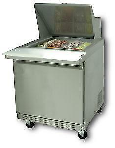 27 Mega Top Sandwich / Salad Prep Refrigerator *RESTAURANT EQUIPMENT PARTS SMALLWARES HOODS AND MORE*