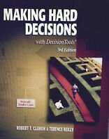 ADMS 3300 - Decision Analysis - Making Hard Decisions