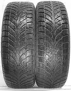 205/55R16 Setof 2 Bridgestone used winter FREEInst.&Bal.70%tread