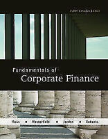 Test Bank: Fundamentals of Corporate Finance 8th Edition