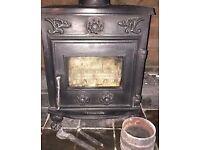 5kw Country Kiln Multi Fuel Burner Solid Fuel Stove, Inc 1.5mt Flue