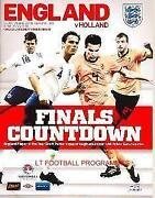 England V Holland