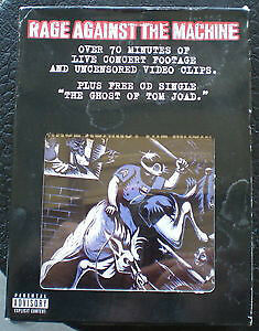 Rage Against The Machine Live VHS + Ghost Of Tom Joad cd