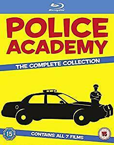 SEALED IN BOX COMPLETE BLURAY SERIES OF POLICE ACADEMY