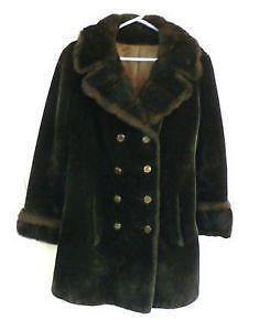 5a3be5fc362d7 Vintage Faux Fur Coat