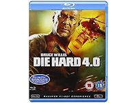 Die Hard 4.0 Blu Ray Disc - Excellent Condition