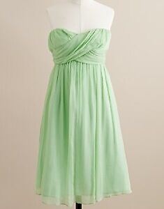 J Crew Chiffon Dress
