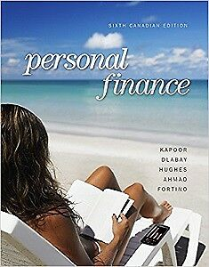 Personal Finance 6th Canadian Edition
