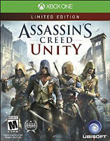 Assassin's Creed Unity Limited Edition Xbox One 1 Game Brand New