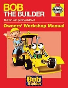 Bob the Builder Manual - Book NEW