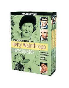 Hetty Wainthropp Investigates: The Complete First Season DVD