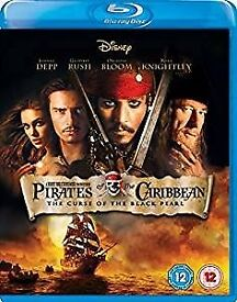 Blu -Ray Pirates of Carribean - Black Pearl Sealed £4