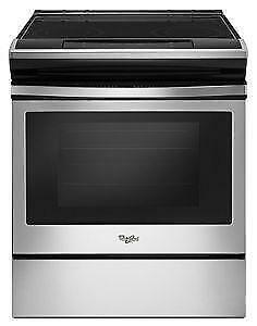SLIDE IN STAINLESS STEEL OVEN/RANGE-- CANT BEAT THIS DEAL!!