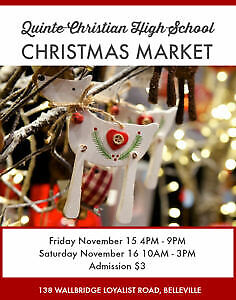 Quinte Christian High School Christmas Market
