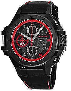 Snyper Ironclad Red Special Edition Black Stainless Steel Men