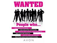 AVON REP- WORK FROM HOME HOURS TO SUIT YOUR NEEDS!