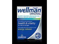 Wellman Original Vitabiotics.