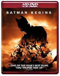 Batman Begins HD DVD Starring Christian Bale & Michael Caine